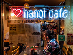 20180823-IMG_2393 Hanoi Cafe (susi luard 2012) Tags: e2 hanoi hoxton kingsland night cafe london road uk