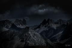 Le Mordor (François Leroy) Tags: françoisleroy france hautesalpes mordor montagne ciel nocturne rocher roche