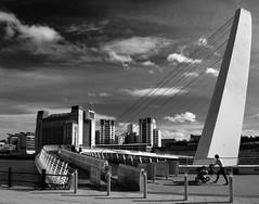 Gateshead Millennium Bridge (PJ Swan) Tags: tyneandwear england northern britain united kingdom millennium bridge gateshead newcastle baltic art gallery