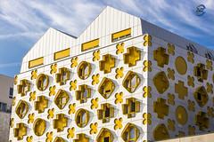 Bulding Geek (apparencephotos) Tags: paris building parisien rosapark jeux games archi canonfrance