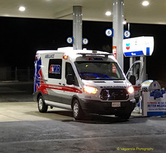 Ford AMR Ambulance California (Vegasrails) Tags: ambulance amr