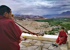 (claudiophoto) Tags: ladakh india indiatravel monastery tibetan buddist monks