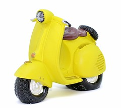 Scooter Shape Piggy Bank (mywowstuff) Tags: gifts gadgets cool family friends funny shopping men women kids home
