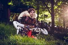 SP_81786 (Patcave) Tags: dragon con dragoncon 2018 dragoncon2018 cosplay cosplayer cosplayers costume costumers costumes valka how train your 2 viking dreamworks animation dragonrider httyd2