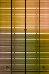 Colours and Lines (ARTUS8) Tags: symmetrie minimalismus nikon24120mmf40 color farbe lookingup flickr linien innenarchitektur nikond800 colour geometrisch