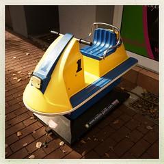 Schaukelautomat (DaWernRulez) Tags: schaukelautomat hipstamatic hannover just one quarter childrens ride