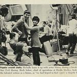 Actress Nichelle Nichols & Actor Leonard Nimoy,