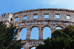 Pula, Croatia 2018 ([50storms]) Tags: croatia europe travel travelphotography canon6d canon2470mmf28l istria istrianpeninsula mediterranean adriaticsea history pula amphitheater coliseum roman architecture