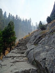 Steep Steps (The-Beauty-Of-Nature) Tags: summer sommer july juli nature california kalifornien usa vacation urlaub yosemite national park vernal fall trail hiking waterfall