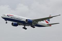 British Airways Boeing 777-236 G-YMMO (Paul's Aircraft and Transport Images) Tags: british airways boeing 777 236 london heathrow lhr myrtle avenue