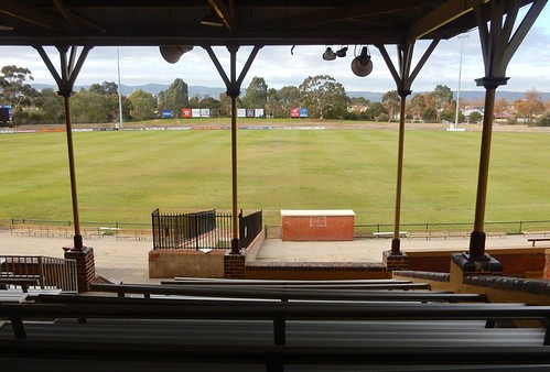 Thebarton Oval from the Back of the Grandstand