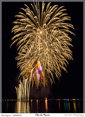 Fête de Marie (MarcEnGalerie) Tags: nocturne longexposure fireworks fête nightly nocturnal livecomposite feudartifice livecomp poselongue berreletang provence france fra
