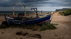 Going Nowhere (James 1949) Tags: fishingboat marskebysea sand tractor neengland northsea beachseascape redcar england unitedkingdom gb
