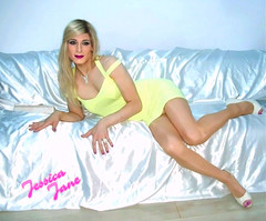 Lemon Lady 🍋 (jessicajane9) Tags: tg crossdressing transvestite cd tranny xdress tgurl feminization trans crossdresser transgender feminised tv crossdress tgirl m2f minidress pose gurl tights nylons pantyhose