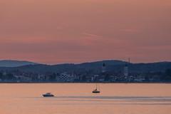 Lindau (ToDoe) Tags: eveningmood sunset ships lake lindau ststephan münsterunsererliebenfrau boat sailing reflection spiegelung abend abendhimmel abendstimmung bodensee lakeconstance