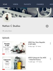 Subscribe To My YouTube Channel! (Nathan C MOCS) Tags: youtube youtubechannel lego legomoc legoyoutube