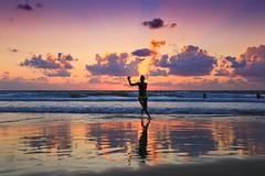 Playing Frisbee at sunset - Tel-Aviv beach - Follow me on Instagram:  @lior_leibler22 (Lior. L) Tags: playingfrisbeeatsunsettelavivbeach playing frisbee sunset telaviv beach