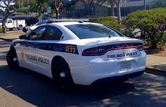 Tiburon Police Dodge Charger rear (Caleb O.) Tags: tiburon police dodge charger