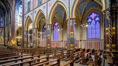 Basilika St. Marien (staetebau) Tags: deutschland germany kevelaer basilikastmarien indoor neugotik neugotisch architektur neogothic gothicrevival architecture kirchenschiff nave