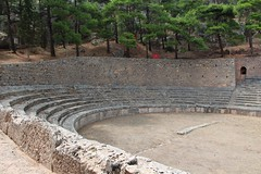 Stadium (demeeschter) Tags: greece delphi archaeological heritage historical ruins unesco parnassus mount ancient oracle museum art theatre stadium temple apollo