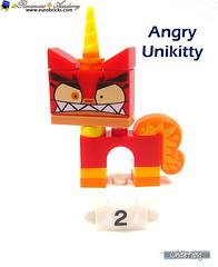 2) Angry Unikitty (WhiteFang (Eurobricks)) Tags: lego bind bags unikitty series 1 brick built animals kitty puppy box colourful vibrant sunshine cheerful fun pink