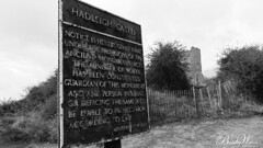 Hadleigh Castle Sign (Stephen Bradley-Waters) Tags: hadleigh castle heritage historic