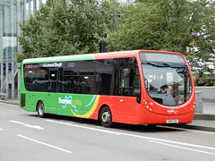 Thames Valley Buses 166 - SN14 FGO (Berkshire Bus Pics) Tags: thames valley reading buses 166 sn14fgo wright streetlite slough