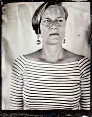 Marina (fitzhughfella) Tags: collodion tintype wetplate tinplate ether silvernitrate largeformat 4x5 portrait graflexspeedgraphic kodakaeroektar