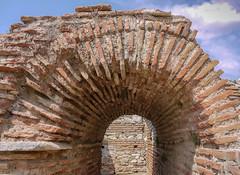The passangeway (Adaptabilly) Tags: radial lumixg1 ruins asia travel entrance arch brick architecture turkey efes greek ephesos ephesus izmir tr