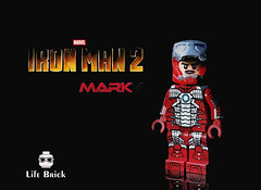 LifeBrick - Mark V (LIFE-CUSTOM) Tags: lego mark5 tonystark marvel mcu minifigures moc superhero ironman