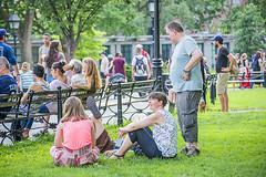 1359_0624FL (davidben33) Tags: newyork manhattan summer unionsquarepark grass trees flowers people crowd women girls street streetphotos festive dance music joy beauty fashion colors 718 washingtonsquarepark