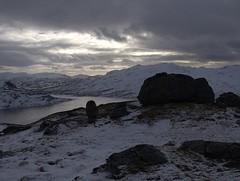 Auestadnuten (magneroed) Tags: auestadnuten imsvatnet etne etnefjellet winter vinter snow snø clouds sky skyer himmel norway landscape mountain