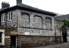 Cedars Road Battersea Garage /Stables Ghost Sign 27/08/18. (Ledlon89) Tags: ghostsign adverts paintedadvert stabels garage london oldlondon paintedsign sign battersea cedarsroad cedars