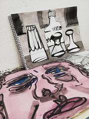 Haben wir, hätten wir (raumoberbayern) Tags: sketch sketchbook drawing painting acryl acrylic bilder robbilder ink tusche