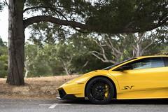 Yellow Lamborghini Murcielago LP670-4 SV (Axion23) Tags: lamborghini murcielago lp6704 sv carmel california car week