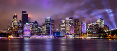 Sydney (Jared Beaney) Tags: canon6d canon australia australian photography photographer travel sydney vividsydney 2018 night bright colour city cityscapes light lights sydneyharbour kirribilli