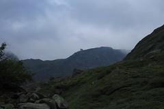 tout là-bas, la cabane du Vélan (bulbocode909) Tags: valais suisse valdentremont vallondevalsorey cabaneduvélan montagnes nature rochers vert nuages brume