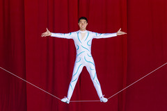 DAE_6677r (crobart) Tags: slack wire balancing canadas wonderland cedar fair amusement theme park chinese acrobatic show acrobats