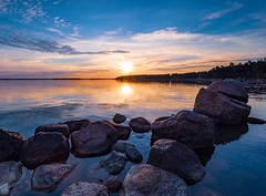Evening clarity (Jarno Nurminen) Tags: emäsalo porvoo finland sunset rocks seascape