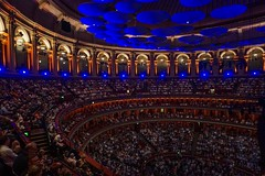The ambiance of the Royal Albert Hall (beyondhue) Tags: proms royal albert hall london england beyondhue interior people audience auditorium seat balcony ceiling