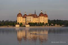 Moritzburg (Rolandito.) Tags: germany deutschland allemagne alemania germania sachsen saxony moritzburg sunrise castle lake