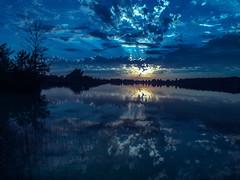 Evening Light.jpg (David Cornwell) Tags: map usa landscape indiana nature dusk mapped noblecounty lake sunset geotagged diamondlake