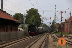 Eisenbahn Tradition 78 468 te Lingen (vos.nathan) Tags: v160 002 mietlok pruisische t18 westfalendampf deutsche bundesbahn br 78 baureihe 468 eisenbahntradition lengerich lingen
