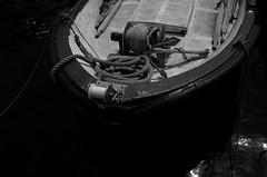 Fishing boat (José J. Almuedo) Tags: blancoynegro noiretblanc bw abstract streetphotography mediterráneo mediterranean typ113 leicaxtyp113 leica monotone blackandwhite monochrom sailing waterfront boating ship quay