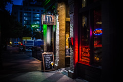 Mort Subite (Jim Nix / Nomadic Pursuits) Tags: austin burnside jimnix lensbaby mortsubite nomadicpursuits bar beer downtown
