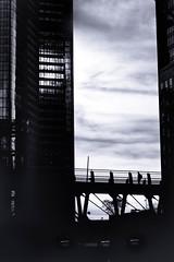 La Defense (5596) (cfalguiere) Tags: france urban zoneesplanadenord hautsdeseine92 sunser outdoor bw ladefense iledefrance skyline cityscape sunrise aube blackandwhite defense exterieur extérieur horizon leverdesoleil monochrom monochrome noiretblanc architecture silhouette