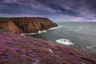 Pordenack Point in purple