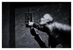 Peter Barseler-Detail Showcase (RadarO´Reilly) Tags: celle bomannmuseum schaukasten showcase sw schwarzweis bw blackwhite blanconegro monochrome noiretblanc zwartwit kunst art ausstellung exhibition