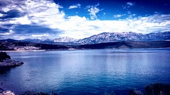 Montenegro (jvstynakovalczyk) Tags: sky clouds water bay montenegro mountains blue view travel