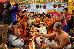 """Indian wedding..."" (Ilargia64) Tags: india wedding indianwedding people portrait culture ritual ceremony colors family travel journalism amayasanchez"